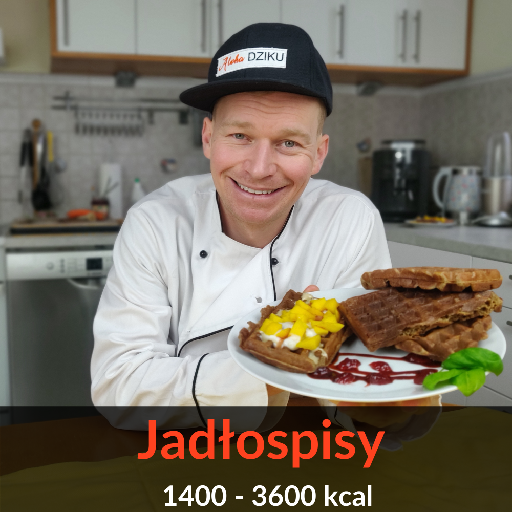 Jadłospisy 1400 – 3600 kcal